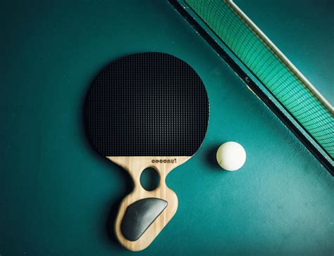 best chinese table tennis rubber coconut paddle for table tennis gadget flow