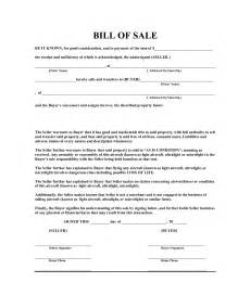 Template For A Bill Of Sale by Free Bill Of Sale Template E Commercewordpress
