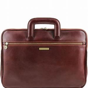 Sac Porte Document Homme : sacoche cuir 2 compartiments tuscany leather ~ Melissatoandfro.com Idées de Décoration