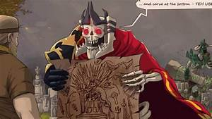 DotA2 RIP Skeleton King 720p YouTube