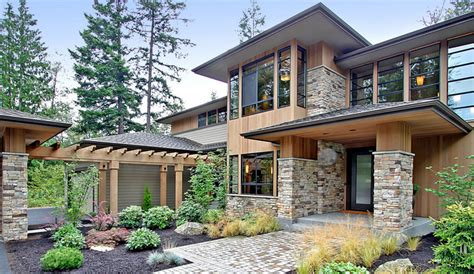 contemporary prairie style house plans extraordinary modern prairie style home amazing