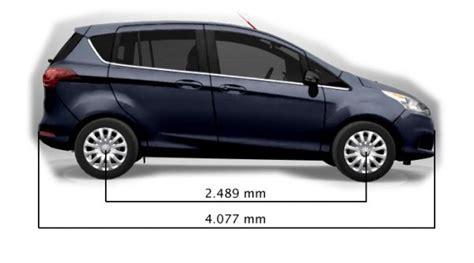 technische daten ford c max ford b max abmessungen technische daten l 228 nge