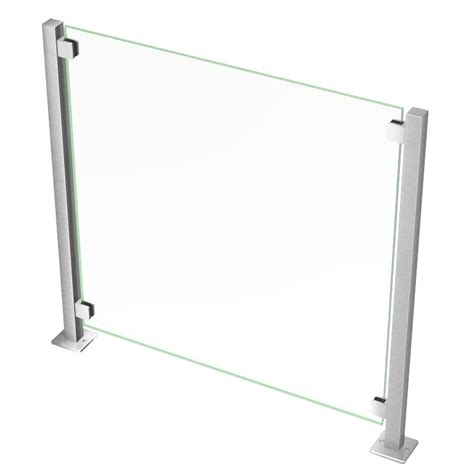 garde corps verre ext 233 rieur 224 poteau carr 233 inoxdesign