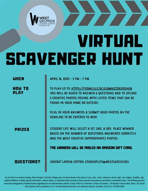 virtual scavenger hunt west georgia technical college