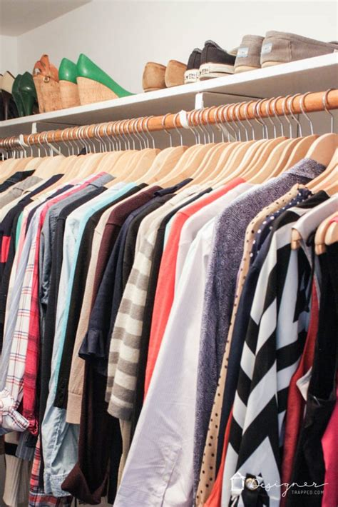 how to organize your closet in 2 hours or less designer