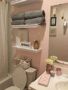 Pink, And, Grey, Bathroom, Ideas