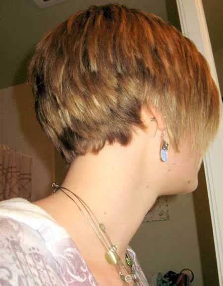 short stacked bob haircut pictures of the back back view of stacked bob haircut short hairstyles 2016