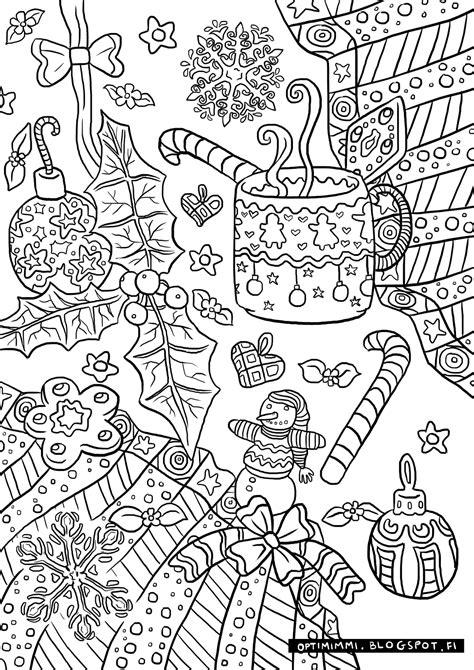 optimimmi  coloring pages  vaerityskuvat