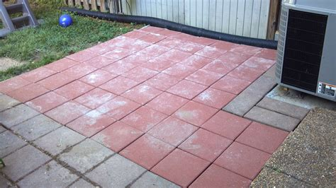 square patio stones concrete paver patio concrete