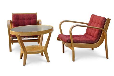 Poltrone Deco Vintage E Tavolino Vintage Design