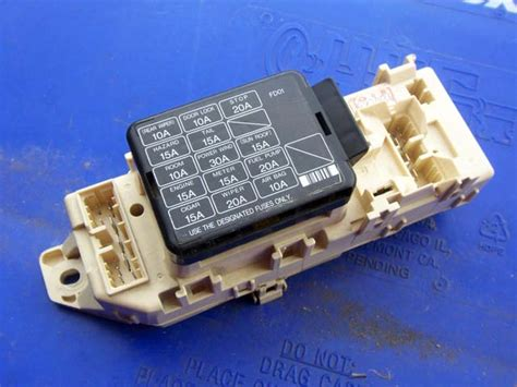 Fc Rx7 Fuse Box by Never Seen Fusebox On 01 Fd3s And Edfc Installation