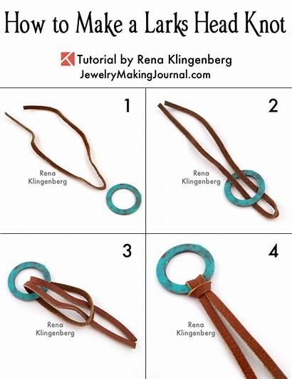 Knot Head Larks Step Tutorial Knots Jewelry