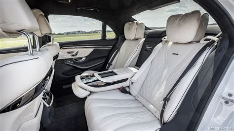 I show you around the interior and displays in the brand new mercedes s63 amg coupe. 2018 Mercedes-AMG S63 4MATIC+ (Color: designo Diamond White Bright) - Interior, Rear Seats   HD ...