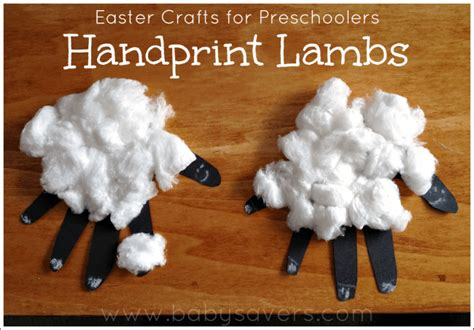 20 easy easter crafts for preschoolers and toddlers 379 | Easter Crafts for Preschoolers