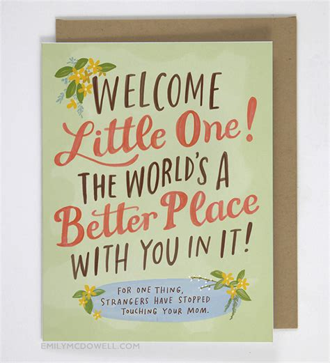 unbelievably honest cards  emily mcdowell