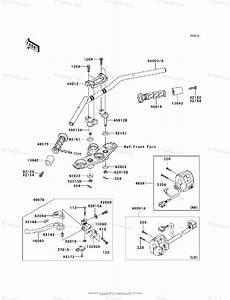 Kawasaki Motorcycle 2009 Oem Parts Diagram For Handlebar