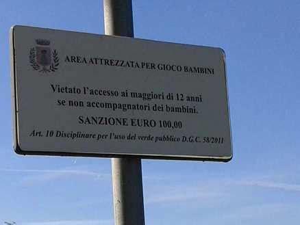 Multa Ingresso Area C by Viterbo Parcogiochi Vietato Agli Adulti 100 Di Multa