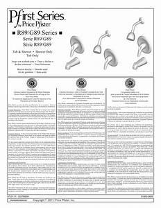 Pfister R890200 Installation Guide