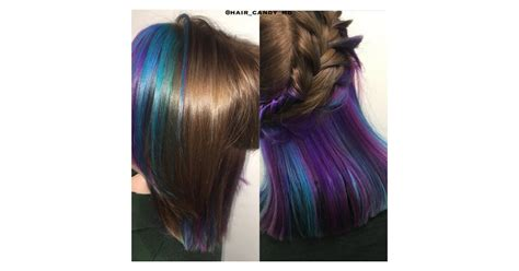 underlights hair color trend popsugar beauty photo