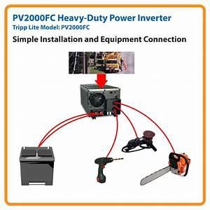 Amazon Com  Tripp Lite Power Industrial Inverter  2000w