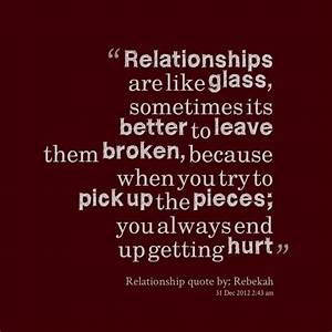 information about ending relationship quotes and sayings