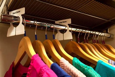 How To Make Closet Dividers by How To Keep Clothes Sorted In Your Closet