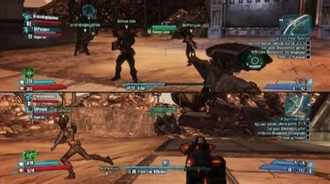 xbox 2 player games co optimus borderlands 2 xbox 360 co op information