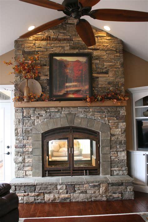 Indoor Outdoor Fireplace Design Fireplace Design Ideas