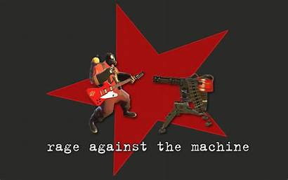 Rage Machine Against Team Fortress Background Wallpapers