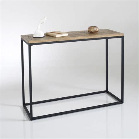 la redoute table cuisine nottingham console table polished pine la redoute