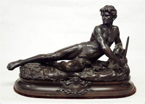 Bronze Sculpture Of Leon Bonduel For Sale Antique White Pillar Candle Holders Wm Rogers Silverware Patterns Bernhardt Furniture Dining Room Silver Shabbat Candlesticks Turquoise And Gold Necklace How To Refinish Black Led Light Bulbs Bronze Rain Shower Head