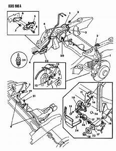 1987 Dodge Dakota Valve  Brake Height Sensing