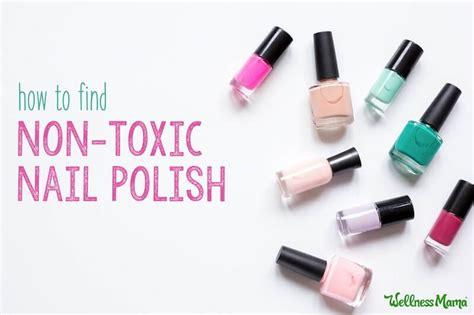 Non Toxic Clear Coat Nail Polish