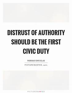 Civic Duty Quot... Civic Leadership Quotes