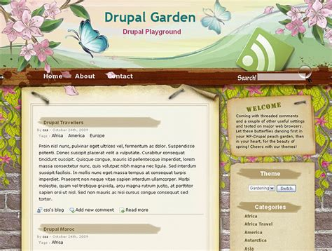 turn off drupal template top 11 latest free drupal themes for nov 2018 wg