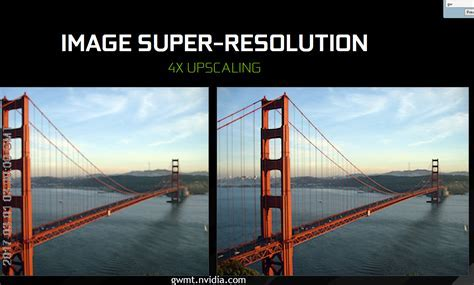 Nvidia's Super Resolution is an AI powered photo fixing