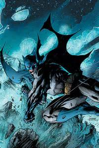 Batman Jim Lee Comic Art