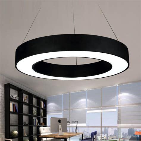 office chandelier lighting modern office led circle pendant lights suspension
