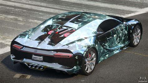 I filmed the all new bugatti chiron. Bugatti Chiron ES L6 for GTA 4