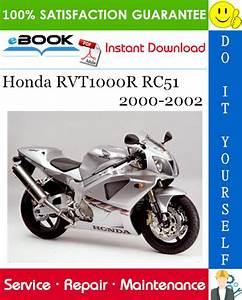 Best  U2606 U2606 Honda Rvt1000r Rc51 Motorcycle Service Repair