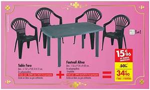 Chaise De Jardin Carrefour : chaise de jardin carrefour market veranda ~ Farleysfitness.com Idées de Décoration