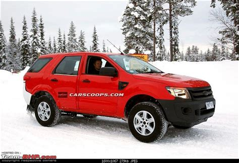 the next generation ford endeavour edit now spotted