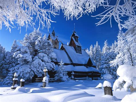 22+ Winter  Christmas Wallpaper For Desktops