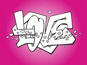 Romantic Love Graffiti Vector Art & Graphics | freevector.com
