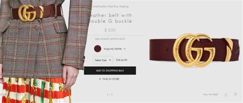 Harga Ikat Pinggang Merk Gucci abis padukan ikat pinggang mewah dengan