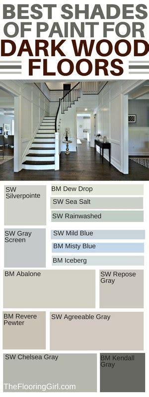 best shades of paint for dark hardwood floors the