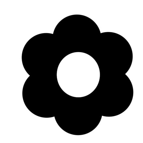 filesix petals   flower iconsvg wikimedia commons
