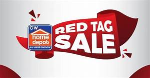 Manila Shopper: CW Home Depot Red Tag SALE: Feb 2017