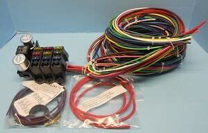 3 Circuit Universal Wiring Harnes Kit by Rebel Wire 9 3 Circuit Wiring Harness Ebay