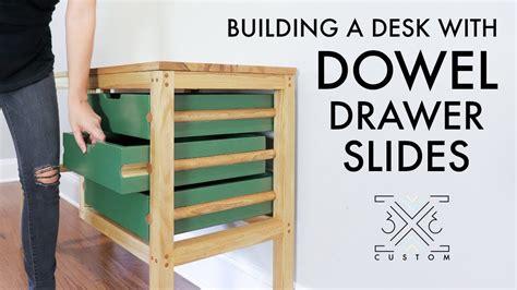 building  desk  dowels  drawer